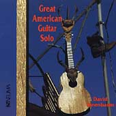 Great American Guitar Solo / David Tanenbaum