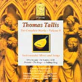 Tallis - Complete Works Vol 9 / Charivari Agr&eacute;able