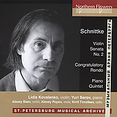 Schnittke: Works for Piano and Strings / Kovalenko, Serov