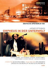 Offenbach: Orpheus in the Underworld / Donald Grobe, Julia Migenes Johnson, Hans Beirer, Astrid Varnay, Helmuth Lohner. Lopez Cobos [2 DVD]