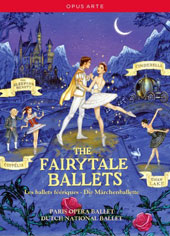 The Fairytale Ballets - Tchaikovsky: The Sleeping Beauty; Swan Lake; Prokofiev: Cinderella; Delibes: Coppélia [4 DVD]