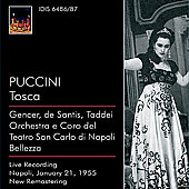 Puccini: Tosca;  Verdi, Catalani / Bellezza, Gencer, Taddei