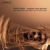 Danzi: Wind Quintets Vol 3 /Berlin Philharmonic Wind Quintet