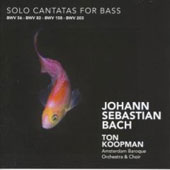 Bach: Solo Cantatas for Bass / Koopman, Mertens, et al
