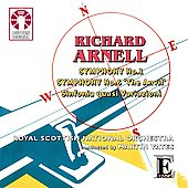 Epoch - Arnell: Symphonies no 1 and 6, etc / Yates, BBC Scottish Symphony Orchestra