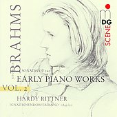 SCENE  Brahms: Early Piano Works Vol 2 / Hardy Rittner