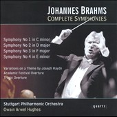 Johannes Brahms: Complete Symphonies / Owain Hughes - Stuttgart PO