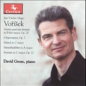 Vorisek: Sonata Quasi Una Fantasia; 6 Impromptus; Marsch in C major; Etc.