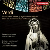 Verdi: Four Sacred Pieces; Hymn of the Nations / Noseda