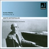 Gustav Mahler: Symphony No. 9 / Mitropoulos