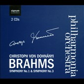 Brahms: Symphonies Nos. 1 & 3 / Dohn&aacute;nyi