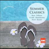 Summer Classics / Bizet, Debussy, Vivaldi, Ravel, Rossini / Marriner, Karajan, Vienna PO,  London SO