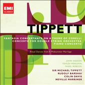 Tippett: Fantasia Concertante on a Theme of Corelli; Concerto for Double String Orchestra et al. / Ogdon, Menuhin