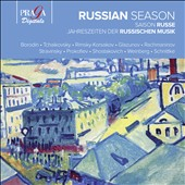 Russian Season / Borodin, Tchaikovsky, Rimsky-Korsakov, Glazunov, etc.