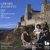 Troubadour Music from the 12th & 13th Centuries / Zuchetto