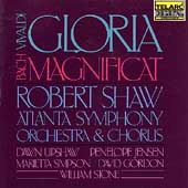 Vivaldi: Gloria Bach; Magnificat / Shaw, Atlanta SO & Chorus