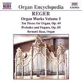 Organ Encyclopedia - Reger: Organ Works Vol 1 / Haas