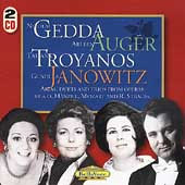 Arias, Duets and Trios / Gedda, Aug&#233;r, Troyanos, Janowitz