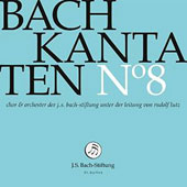 Bach: Cantatas Vol. 8 / Choir & Orchestra of the J.S. Bach Foundation; Lutz