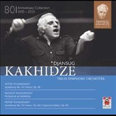 Djansug Kakhidze The Legacy, Vol. 2: Tchaikovsky: Symphonies Nos. 4 & 5; Mussorgsky: Pictures at an Exhibition / Tbilis SO, Kakhidze
