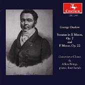 Onslow: Sonatas Op 7 and Op 22 / Chinn, Brings