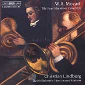 Mozart - The Four Hornbone Concertos / Lindberg, et al