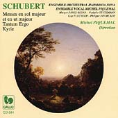 Schubert: Masses in C & G, Kyrie in Bb / Piquemal