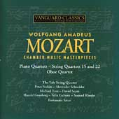 Mozart: Chamber Music Masterpieces / Serkin, Rhodes, Soyer