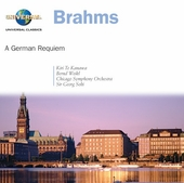 Brahms: A German Requiem / Solti, Te Kawana, et al