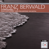Berwald: Symphonies no 1-4 / Montgomery, Jena Philharmonic