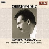 Christoph Delz: Piano Works / Tamriko Kordazia
