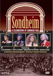 Sondheim: A Celebration at Carnegie Hall / Liza Mennelli, Patti LuPone, Bernadette Peters [DVD]
