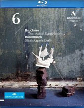 Bruckner 'The Mature Symphonies': Symphony No. 6 ' / Barenboim, Staatskapelle Berlin [Blu-Ray]