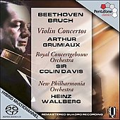 Beethoven, Bruch: Violin Concertos / Grumiaux, et al