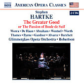 Hartke: The Greater Good / Robertson, Worra, Abraham, et al