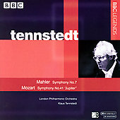 Mahler, Mozart: Symphonies / Tennstedt, London PO