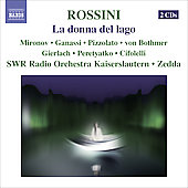Rossini: La donna del Lago / Zedda, Ganasi, Mironov, et al