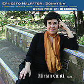 Halffter: Sonatina;  Falla / Mirian Conti
