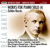 Bartók: Works for Piano  Vol 4 / Zoltan Kocsis