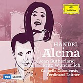 Handel: Alcina / Leitner, Sutherland, Wunderlich, Cappella Coloniensis