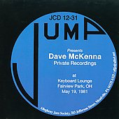 Dave McKenna: Private Recordings: At Keyboard Lounge Fairview Park Oh May 19, 1981