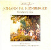 Kirnberger: Sonatas for flute