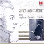 Suitner Conducts Mozart: Famous Symphonies, Serenades, Concertos