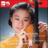 Paganini: Violin Concerto No. 1; Tchaikovsky: Serenade