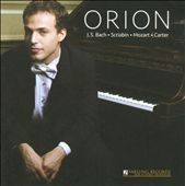 Orion Weiss plays Bach, Scriabin, Mozart, Carter