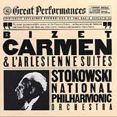 Bizet: Carmen & L'Arl&eacute;sienne Suites / Stokowski, National PO
