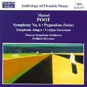 Poot: Symphony no 6, etc / Devreese, Moscow SO