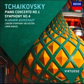 Tchaikovsky: Piano Concerto No. 1; Symphony No. 4 / Vladimir Ashkenazy - London SO