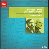 Debussy and Ravel: Orchestral Works / Aldo Ciccolini, Itzhak Perlamn - Jean Martinon [8 CDs]