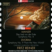 Mahler: Das Lied von der Erde; Symphony No. 4; Dvor&#225;k: Symphony No. 9 